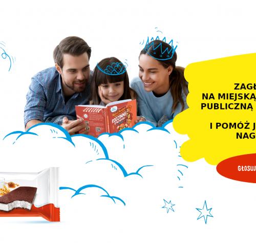 Plakat reklamujący akcję Przerwa Na Wspólne Czytanie 2021
