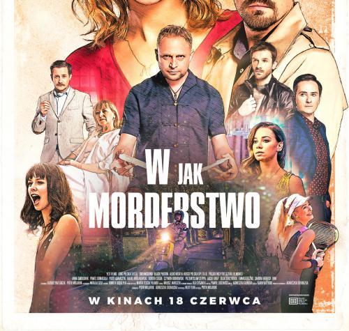 Plakat filmu W jak morderstwo.