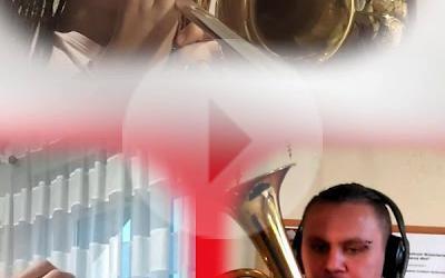 Szara Piechota w wykonaniu Młodzieżowej Orkiestry Dętej z Drzewicy.